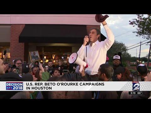 U.S. Rep. Beto O'Rourke campaigns in Houston U.S. Rep. Beto O'Rourke campaigns in Houston., From YouTubeVideos