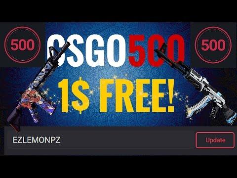 CSGO500 Referral Code - New CSGO Betting Site!