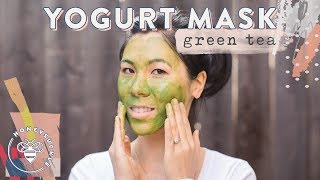 Green Tea Yogurt Mask - NATURAL BEAUTY SERIES