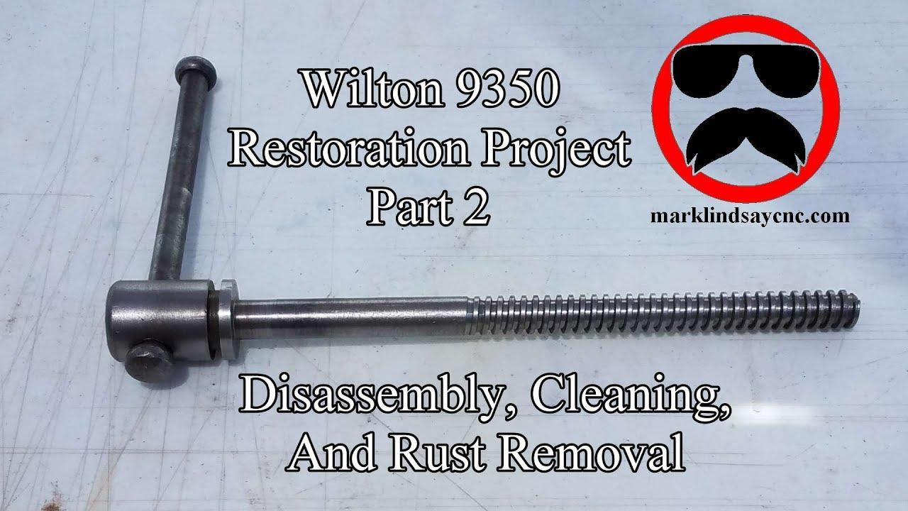 Wilton Bullet Vise Parts Diagram Schematic Diagrams C0 List And After 1998 Ereplacementparts Restoration Part 2 Breakdown Electrolysis Youtube Pattern Makers