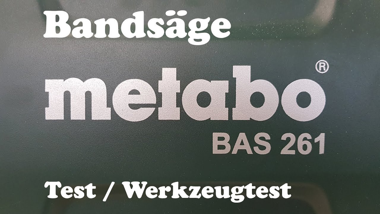 Test Tv Sessel Test Band Saw Metabo Bas 261