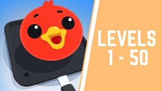 Pancake Art Game Walkthrough Level 1-50