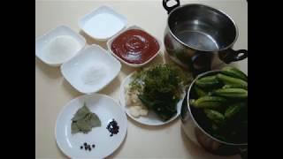 Огурцы с кетчупом на зиму / Огірки з кетчупом на зиму/Pickled cucumbers with ketchup