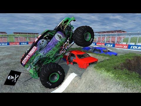 BeamNG.drive - Monster Truck Fairgrounds