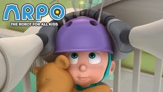 ARPO The Robot For All Kids - Mind Reading Helmet | Compilation | Cartoon for Kids Video