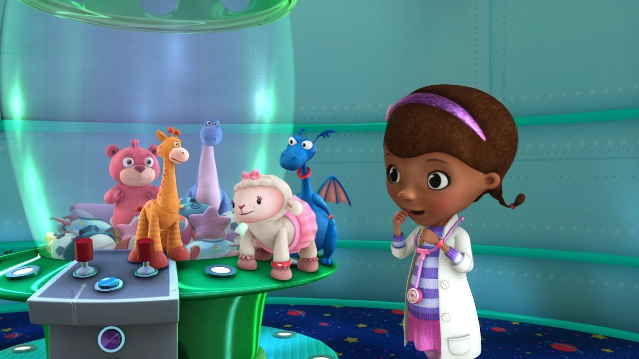 how to make doc mcstuffins out of fondant