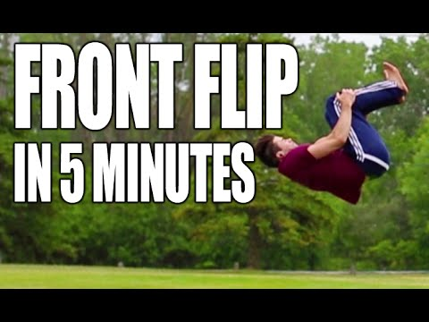 How to Front Flip Tutorial | Only 5 Minutes to Learn