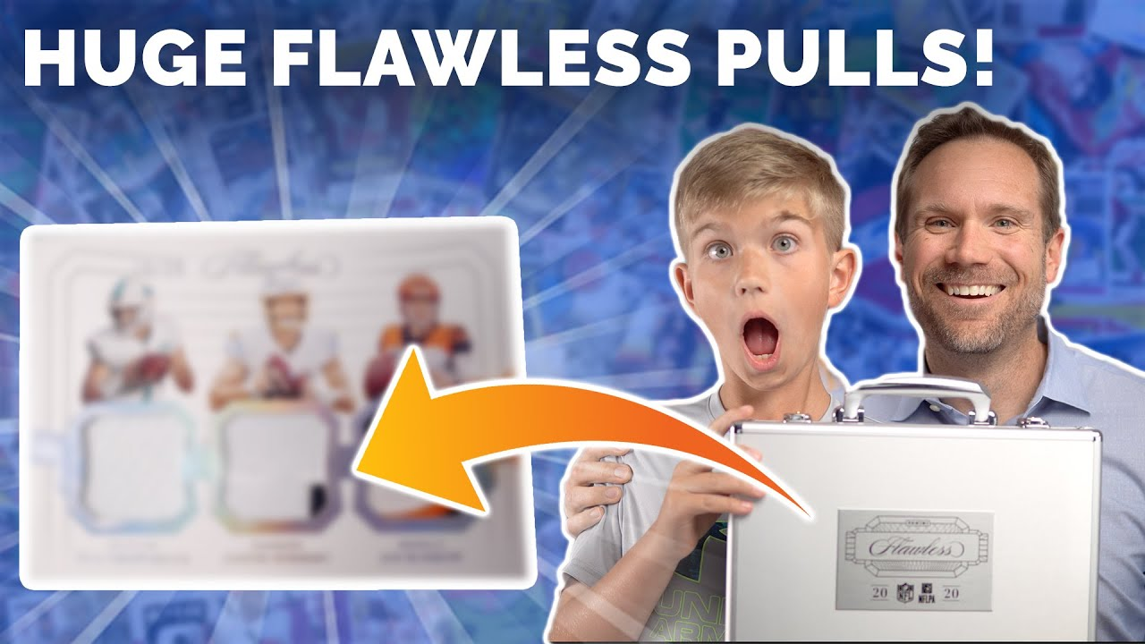 HUGE Flawless Football Box Opening with My Son! Happy Father's Day! (PART 2)