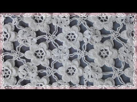 How ATTASH Crochet Triangle Flower Lace Motif