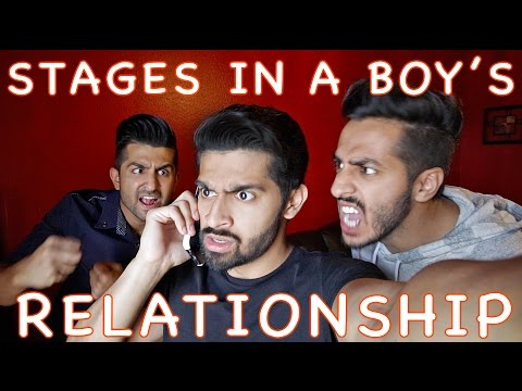 Stages in a Relationship - Bollywood Style