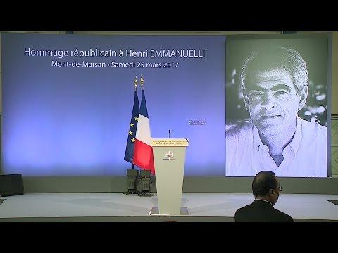 Hommage républicain à Henri Emmanuelli