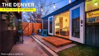 A Tiny Slice Of Heaven: The Denver, $53k Shipping Container Tiny Home