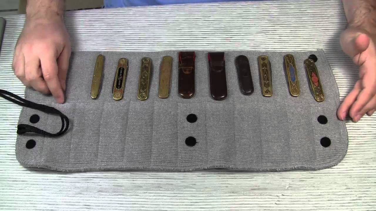 inexpensive knife storage option sack ups protector 12 youtube