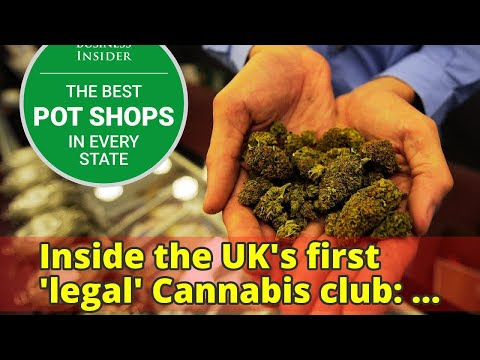 Inside the UK's first 'legal' Cannabis club: Founder charges £35-a-year for people to smoke drugs an