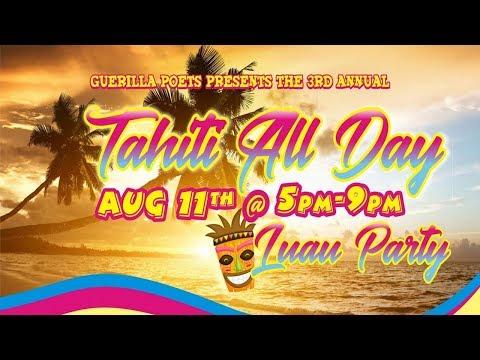 Guerilla Poets Present: Tahiti Day