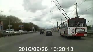 ДТП на Московском шоссе у Барса 28.09.2016