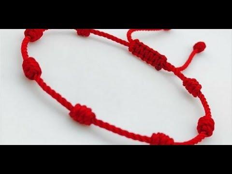 95114da3fa5e Aquí El Significado De Llevar Una Pulsera Roja De 7 Nudos En La Mano  Izquierda