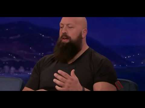 Dramatic 160lbs loss for the Big Show LIVE on CONAN