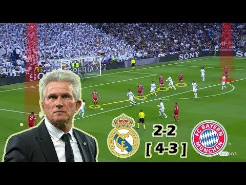 Real Madrid vs Bayern Munich 2-2 | Tactical Analysis - 2nd Leg - UCL Semi Final