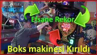 Boks makinesi Kırıldı - Efsane Rekor  👊👊 [Çekim: 20 May 2017]