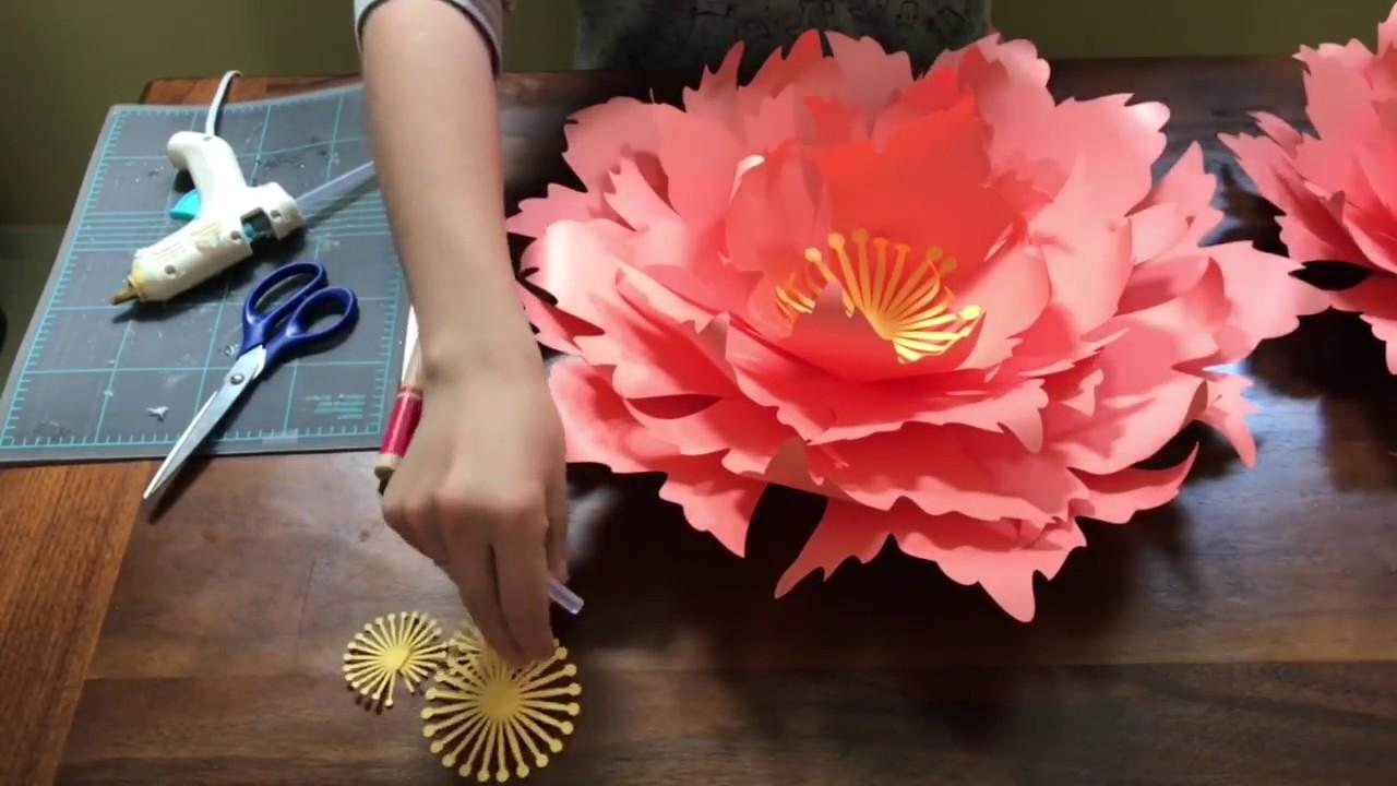 Free paper flower tutorial by Seattle Giant Flowers. cornflower ...