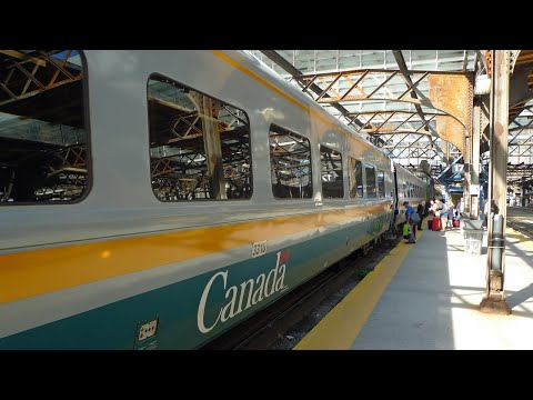 Thumbnail: Toronto to Montreal by train with VIA Rail Canada