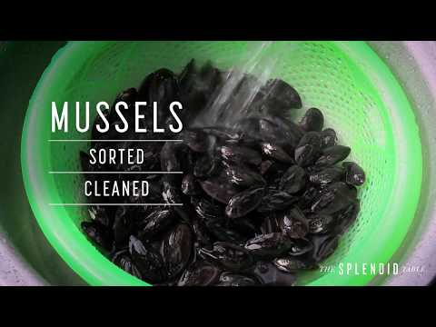 Karl's Curried Mussels