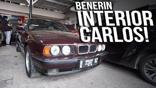 MODIF INTERIOR BMW E34 BUAT CHALLENGE