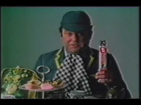 Terry Scott Curly Wurly Classic Vintage British Tv Ad