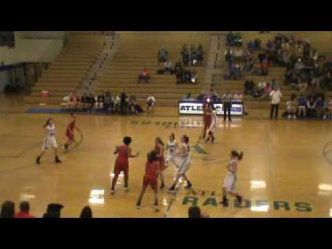 Atlee v. Albemarle girls basketbal Conf Championship 2.17.17