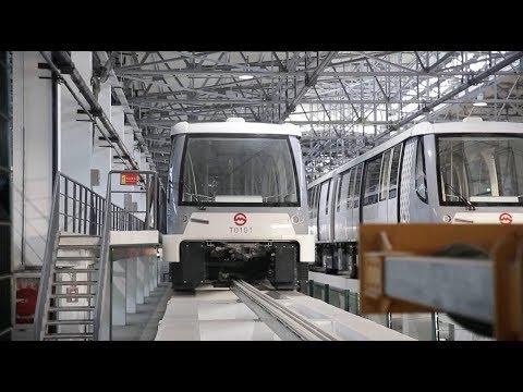 Shanghai's first self-driving metro line starts trial run
