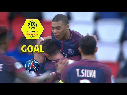 Goal Kylian MBAPPE (12') / Paris Saint-Germain - Angers SCO (2-1) (PARIS-SCO) / 2017-18