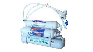 4 stage Portable Reverse Osmosis RO Water Purification System Review