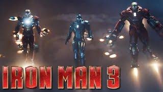 iron man 3 official trailer 2 hd iron legion hulk buster armor