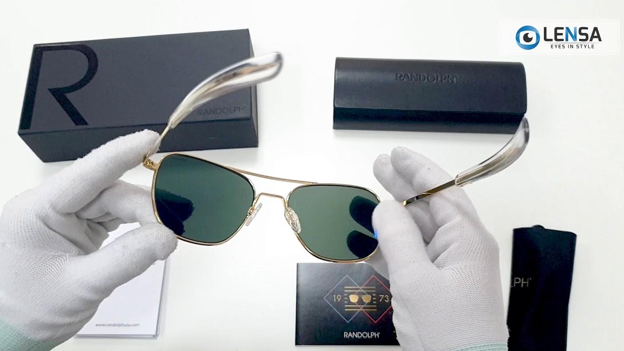 80b0c941467c5 Unboxing ochelari de soare unisex Randolph SPORTSMAN AF106 – LENSA ...