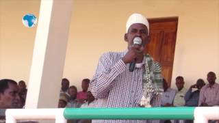 Elders in Mandera have asked the locals to cooperate and secure the county.