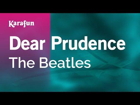 Karaoke Dear Prudence - The Beatles *