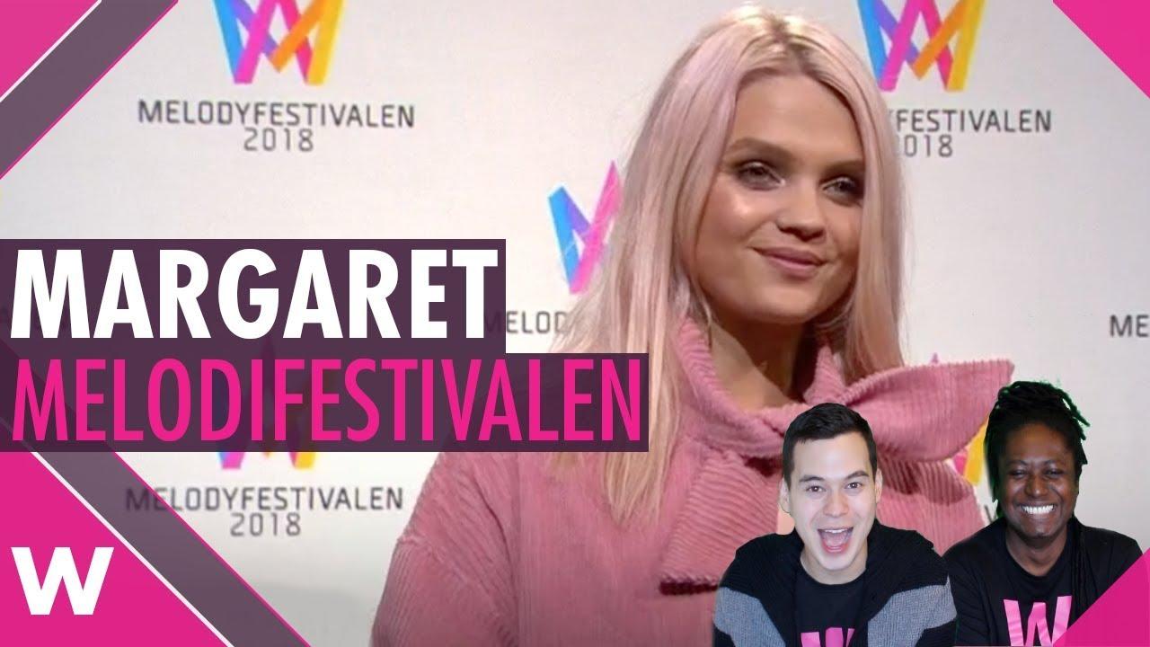 Margaret At Melodifestivalen 2018 (REACTION)