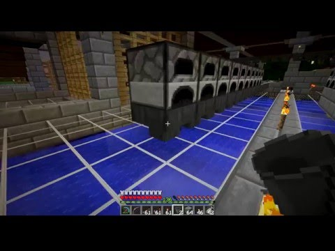 Minecraft LP 1.9 - Ep 012 - Industrial Furnace Done!