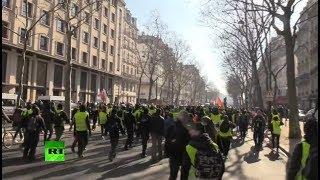 Decimocuarta semana consecutiva de protestas de los chalecos amarillos en París