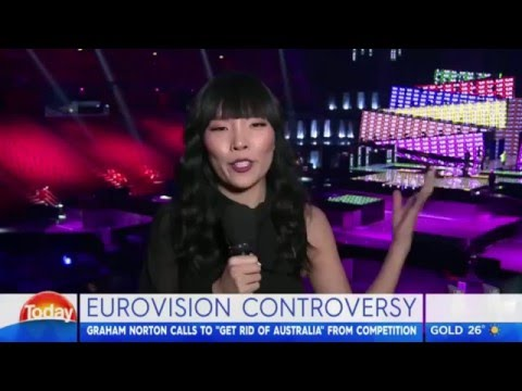 Dami Im - Interview from Stockholm on The Today Show - Channel 9