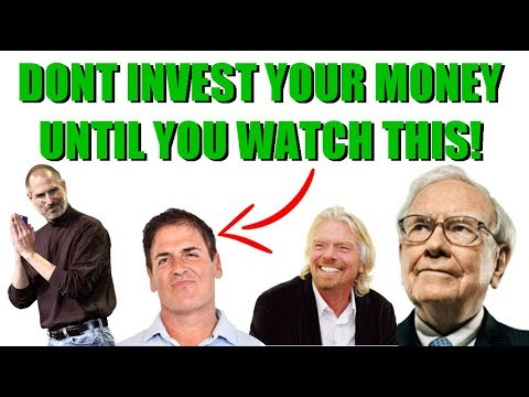 Don't INVEST Your MONEY Until You Watch This - The BEST INVESTING ADVICE For Beginners