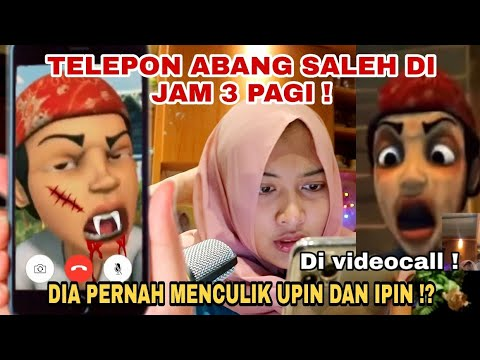 TELEPON ABANG SALEH DI JAM 3 PAGI ! ABANG SALEH SANGAT GARANG !