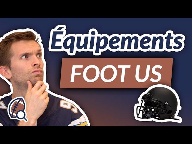 Les équipements de football américain - Interview de Cédric de SportUS Company