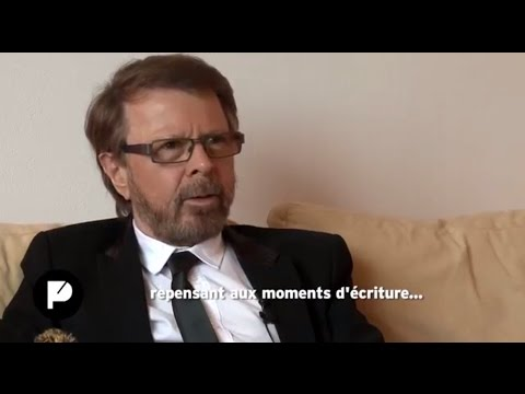 Björn Ulvaeus (ABBA) interviewed in english by Caroline Franc