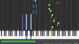 [How to Play] Mozart - Piano Sonata 12 - KV 332 - 3rd Movement [Synthesia Piano Tutorial]