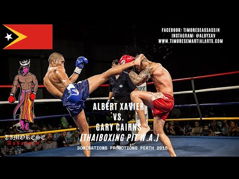 Albert Xavier vs Gary Cairns (Thaiboxing Pit W.A.)