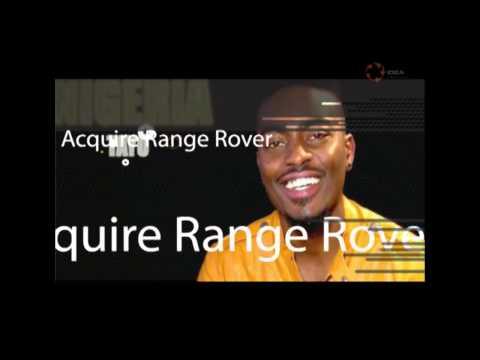 NIGERIA'S BBA TAYO FANIRAN ACQUIRE RANGE ROVER