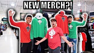 PUTTING MERCH ON STORE MANEQUINS PART 2!!