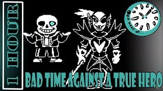 Undertale - Bad Time Against a True Hero  1 hour   One Hour of... Resimi
